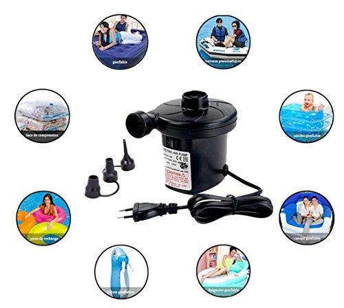 Nbd bomba de aire el ctrica bomba el ctrica hinchador for Accesorios para piscinas inflables